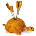 Schildkröte Olivenholz
